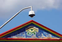 Eye of horus and CCTV