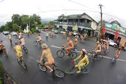 Nimbin World Naked Bike Ride 2011